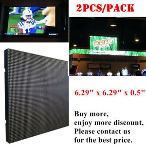Indoor Led Display P2 5 Medium 64x64 Rgb Led Matrix Panel 6 29 X 6 29 X 0 5