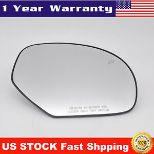 Mirror Glass Power Heated Right Passenger Side For 2007 2014 Cadillac Chevy Gmc