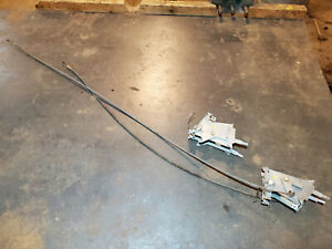 1956 1955 Packard 400 Caribbean Heater Defrost Controls Cable Free U S Shipping