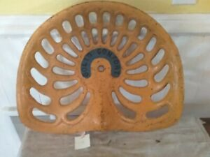 Vintage Solid Comfort Cast Iron Tractor Farm Implement Seat Antique