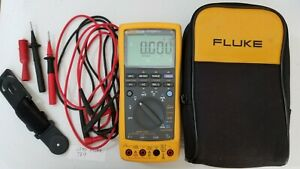 Used Fluke 789 Process Meter With Leads storage Case And More 239569