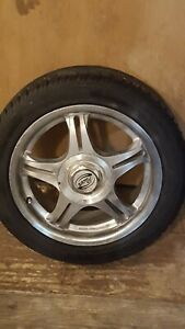 Used Universal 15 Inch Rims And Tires