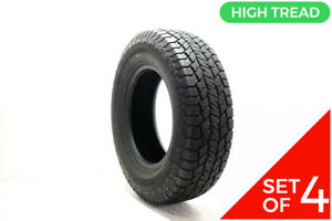Set Of 4 Driven Once 245 75r17 Hankook Dynapro At2 112t 12 5 32