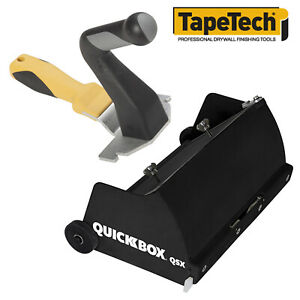 Tapetech Quickbox 8 5 Drywall Flat Finishing Box W Wizard Compact Handle