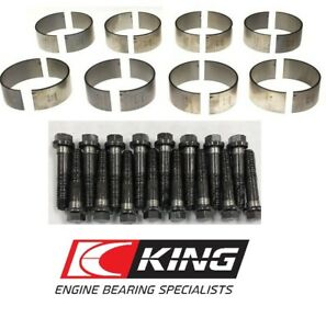 Chevy Ls1 Ls2 Ls3 Ls6 Oe Gm Connecting Rod Bolts Set 16 King Rod Bearings