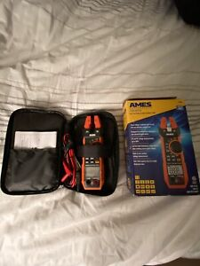 new Ames Cm200a Fork Style Clamp Meter