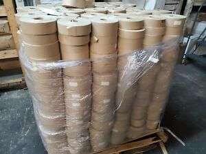 Gummed Tape reinforced 630 Rolls 450 Ft 72mm Wide 42 00 Cs 1 Pallet 63 Cases