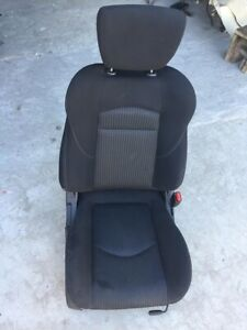 2016 Nissan 370z Right Passenger Side Front Seats Assy Cloth Black W Airbag Oem