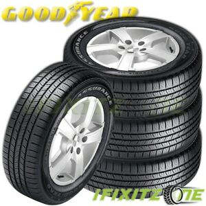 4 Goodyear Assurance All season A s 225 65r17 102t M s Touring Performance Tires