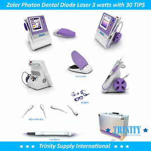 Diode Laser Dental 3 Watts Compl set Unbeatable Warranty Versatile Low Price