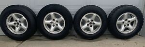 Set Of 4 15 Inch Jeep 2000 To 2003 Oem Factory Original Alloy Wheel Rims tires