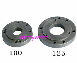 1pc Cnc Lathe Machine Tool Part Lathe Back Plate Connection Plate 100mm Or 125mm