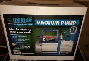 Ideal air Hvac Vacuum Pump Model 700582 3 Cfm Commercial Pump Free Shipping