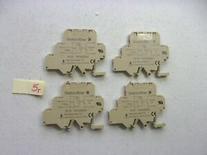 Lot Of 4 Weidmuller Terminal Block Mc5r 79011600000 272 1