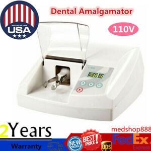 35w Dental Amalgamator Digital Controller High Speed Amalgam Capsule Blender Usa
