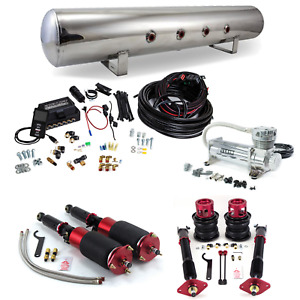 Air Suspension System For Nissan 370z G37 Air Lift 3p Viair 480c Complete Kit