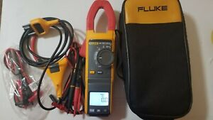 Used Fluke 381 True rms Ac dc Clamp Meter With Iflex More Tp 239581 239582