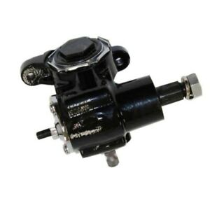 For Universal Ford Chevy Hot Rod Vega Manual Steering Gear Box Black