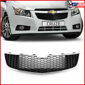 Honeycomb Radiator Lower Front Radiator Grille For Chevy Cruze 10 14 Ls Lt Ltz