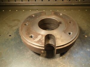 9 Od Lathe Dog Drive Face Plate L 1 Long Taper Hub Used In Good Condition