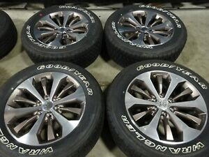 20 Ford F150 King Ranch Factory Oem Wheels Rims Goodyear Tires 10006c