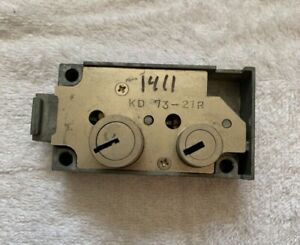 Kumahira Security Safe Deposit Locks Kd 73 21r Used