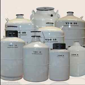 50l Liquid Nitrogen Ln2 Storage Tank Static Cryogenic Container With Sleeve Ss