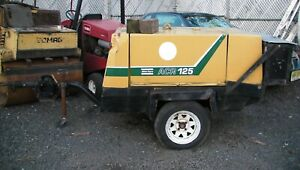 Atlas Copco Acr 125 Air Compressor Trailer Deutz Diesel In Nj