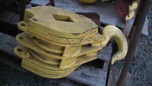 Crosby Laughlin Crane Snatch Block And Lifting Hook Double Sheave In Nj