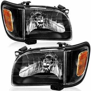 For Toyota Tacoma 2001 2004 Headlights Corner Signal Lamps Both Sides Included