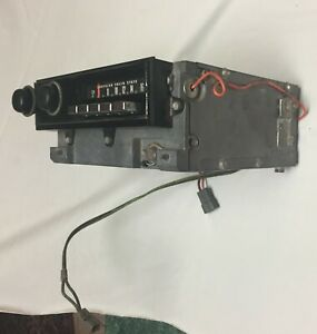 1970 Plymouth Barracuda Am Radio Oem P n 2884759