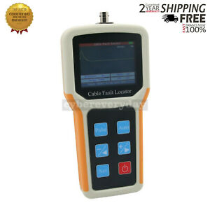 Handheld S 600am Tdr Cable Fault Locator 2km Fast Tester Speed Accurate Test Dt