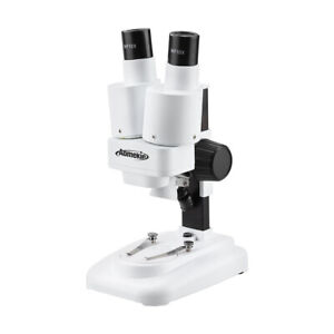 20x Binocular Stereo Microscope With Led Hd For Pcb Solder Phone Repair Tool