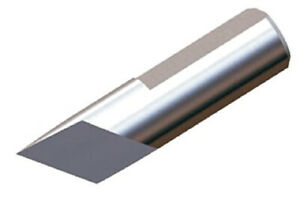 Micro 100 Tangential Slitting Blade 40 Degree Cutter Angle Solid Carbide Usa