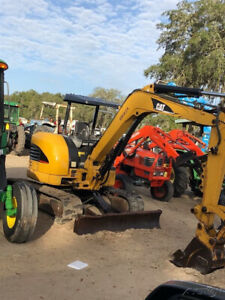 2008 Caterpillar 305ccr Hydraulic Mini Excavator Only 2600 Hours Super Clean