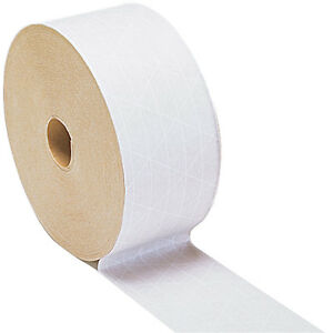 Gummed Tape White reinforced 6 Rolls 500 Ft Ea Xxhd Grade 59 00 Free Ship