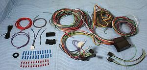 12 Fused Wiring Harness Hot Rod Street Rod Universal Wire