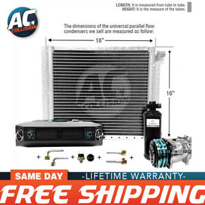 Ac Kit Universal Evaporator Underdash Unit Compressor And Condenser 16 X 18