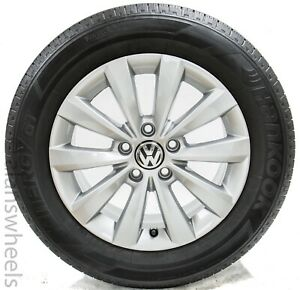 Volkswagen Beetle Passat 2019 16 Silver Factory Oem Wheels Rims Tires 69927