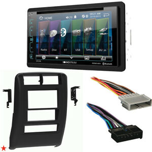 1997 2001 Jeep Cherokee Double Din Car Stereo Installation Dash Kit Bezel e