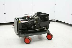 Edwards Dp40 Semiconductor Multi Stage Dry Vacuum Pump 2hp Tested Working
