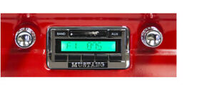 Ford 1964 64 1965 65 1966 66 Mustang Usa 230 Radio Custom Mp3 Am Fm Aux