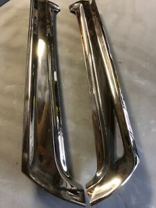 1966 1969 Falcon 66 67 Ranchero Fairlane Sedan Windshield Pillar Trim Moldings