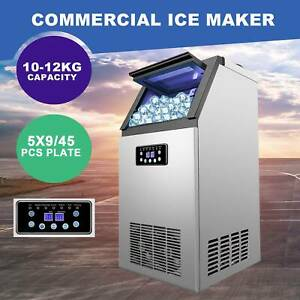 110lb 45pc Built in Commercial Ice Maker Undercounter Freestand Ice Cube Machine