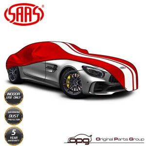 Saas Car Indoor Cover For Porsche Boxster Cayman 718 986 987 981 Softline Red