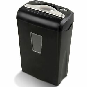 Paper Shredder Micro cut 8 sheet Confidential Document Security Auto Start Stop