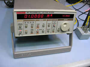 Keithley 487 Picoammeter Voltage Source W Test Fixture And Accessories Look