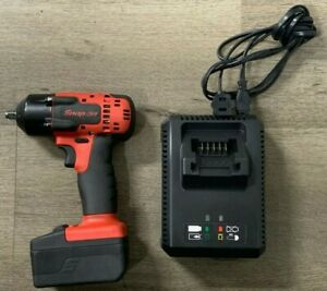 Snap on Ct8810b 3 8 Impact Wrench W X1 Battery Charger Good Condition