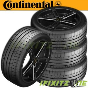 4 Continental Extremecontact Sport Summer High Performance 225 50zr17 94w Tires
