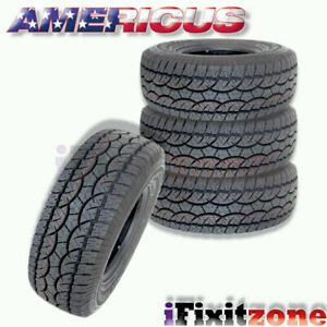 4 Americus At 285 70r17 117t All Terrain Performance Tires